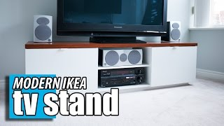 IKEA Byas TV Stand - DIY Wood Transformation Hack