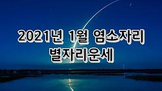 2021년 1월 염소자리 별자리운세