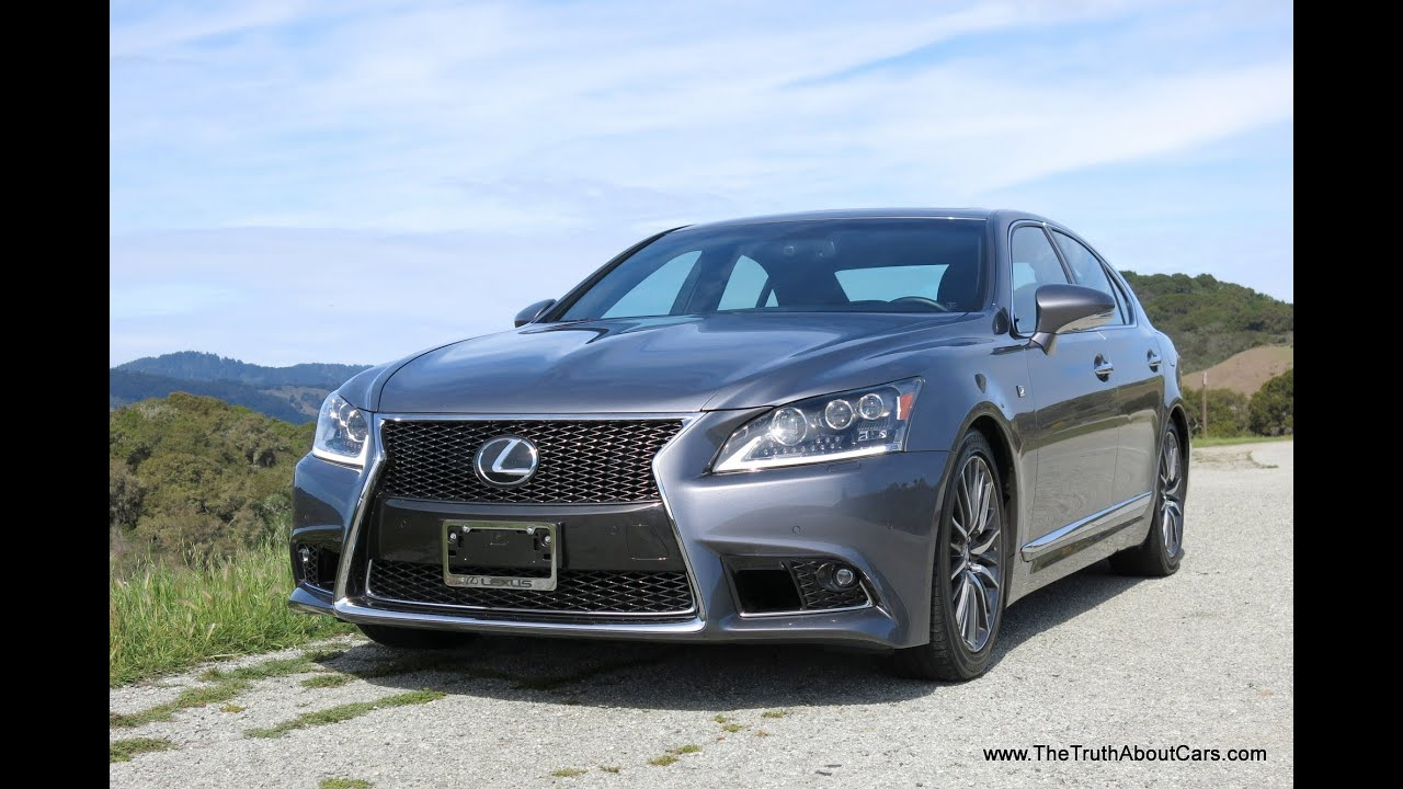 2013 and 2014 Lexus LS 460 F Sport Review with Infotainment
