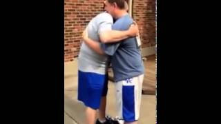 father cries after son fulfills a promise he made when he was 8 years old