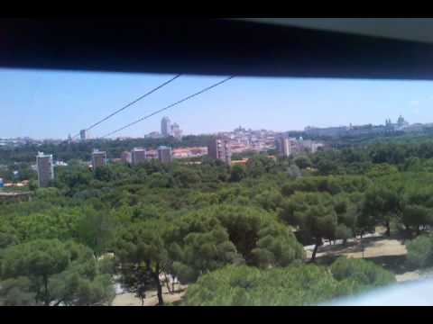 Telefono cable car in madrid