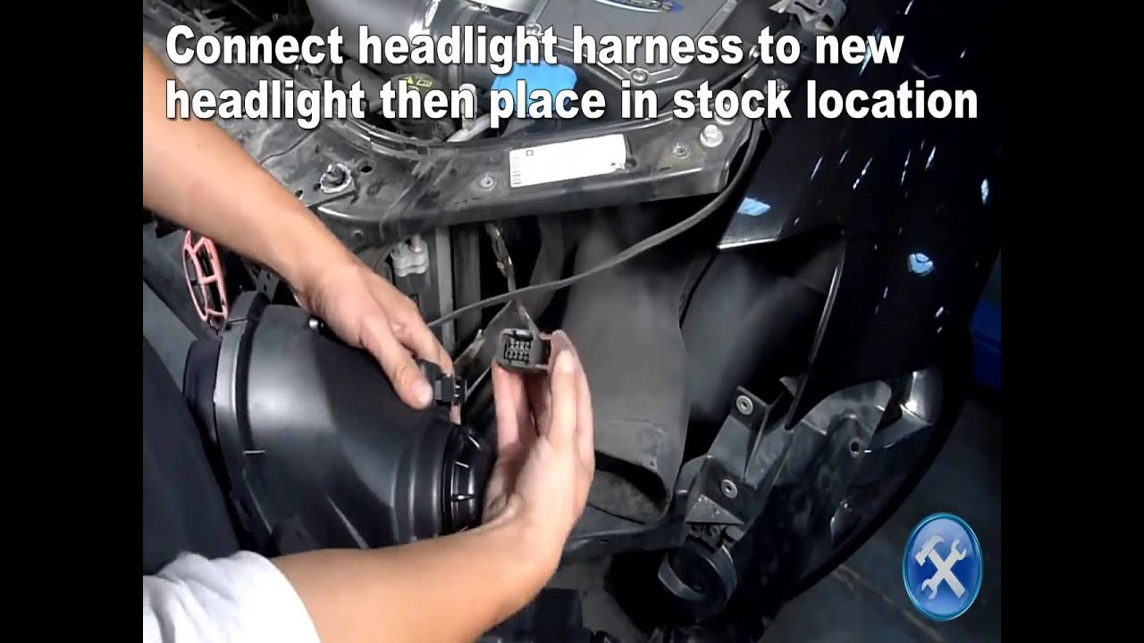 Pontiac Headlamp Harness Wire Data Schema G8 Gt Fuse Box Specdtuning Installation Video 2008 2009 Projector Rh Youtube Com
