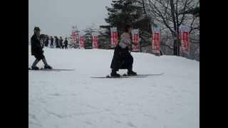 2011 1/12レルヒ少佐顕彰会レルヒの会1本杖スキー