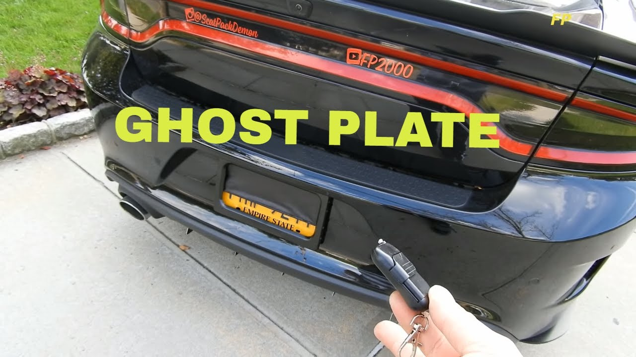 Dodge Charger R/t Scat Pack Hemi 392 Srt GHOST PLATE Finally Installed