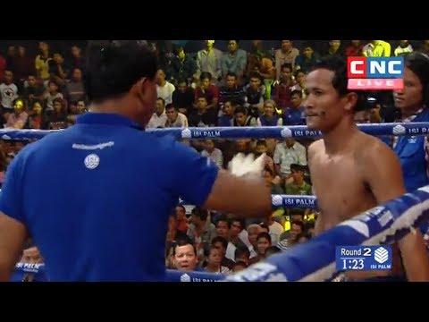 Long Khaet vs Soy Sey, Khmer Boxing CNC 03 June 2018