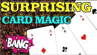 Surprising Card Magic Trick[Performance & Tutorial] In Hindi