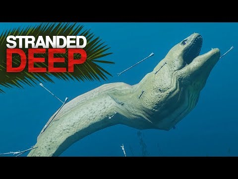 GIANT EEL BOSS FIGHT! Stranded Deep S2 Episode 22