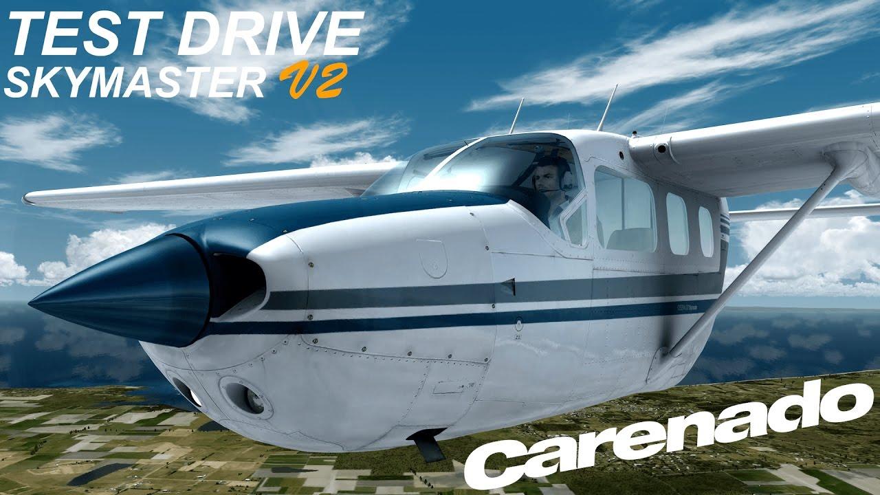 Test Drive | Carenado SkyMaster V2 | Prepar3D V3 | 4K