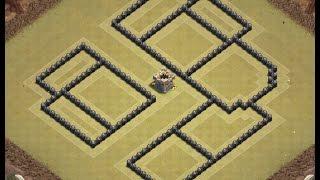 Th8 war base + replays | Th8 anti 3 star | Diseño de aldea | Clash of clans