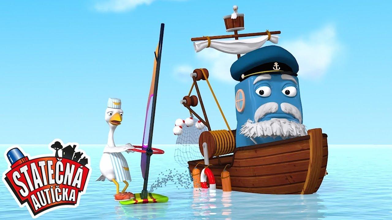 Rybář Fred v nebezpečných vodách | Kreslené pro Děti | Animované pro Děti