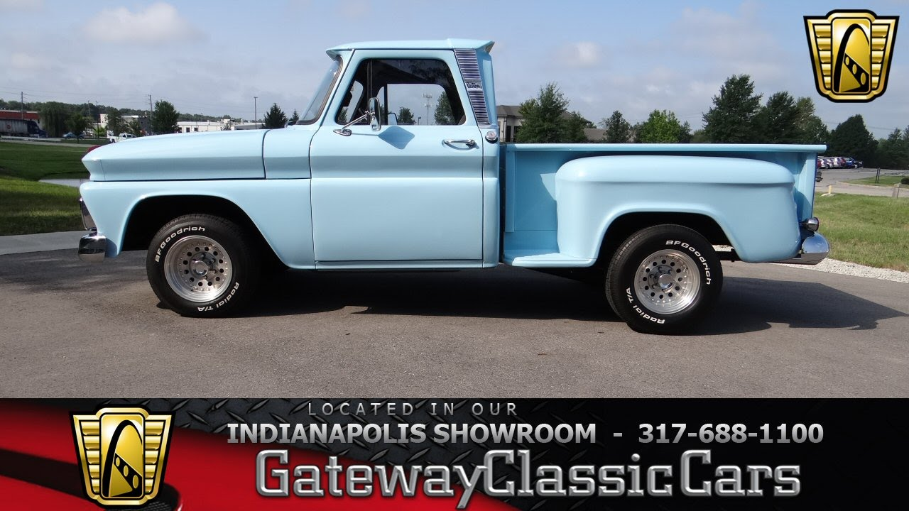 hight resolution of 1965 chevrolet c10 stepside pickup gateway classic cars indianapolis 648 ndy youtube