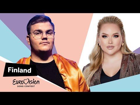 Eurovisioncalls Aksel - Finland 🇫🇮 with NikkieTutorials