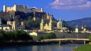 Salzburg. Зальцбург Австрия(Австрийсий город Зальцбург расположен на берегу реки Зальцах, у подножья Альп, рядом с границей Германии...., 2014-02-08T11:59:42.000Z)
