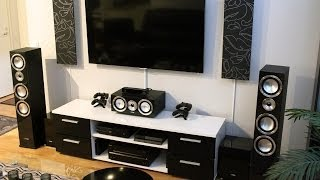 new ultimate home theater setup 2014 samsung onkyo canton chrono xbox one and ps4