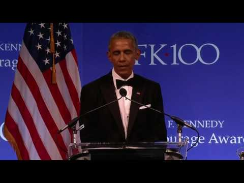 Barack Obama Full Speech 2017 Profiles in Courage Award