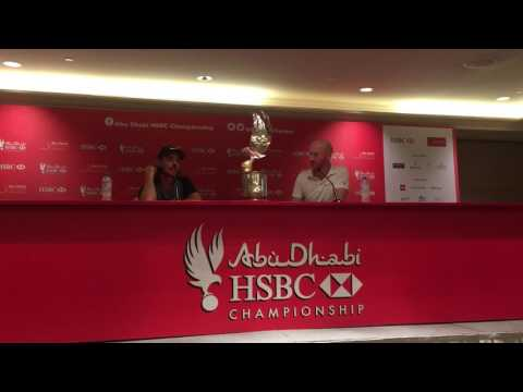Tommy Fleetwood press conference on wining the 2017 Abu Dhabi HSBC Golf Championship