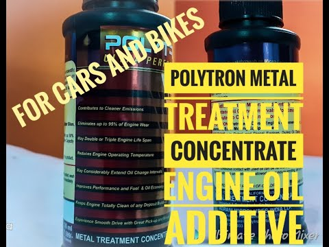 POLYTRON METAL TREATMENT CONCENTRATE FOR CARS AND BIKES II Fantastic Results   #polytron