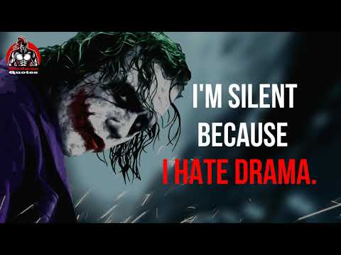 15 MOST POWERFULL MOTIVATIONAL QUOTES(Jokers Collection) ||