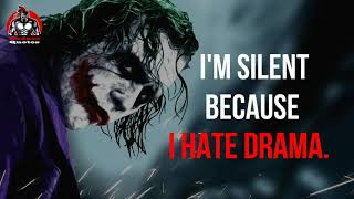 15 MOST POWERFULL MOTIVATIONAL QUOTES(Jokers Collection) || BADASS QUOTES