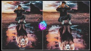 Lion King Photo Editing Tutorial in PicsArt    Manipulation King Photo Editing in PicsArt   