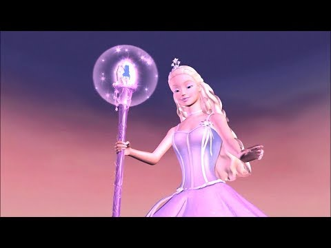 Barbie and the Magic of Pegasus - Annika defeated Wenlock with the Wand of Light