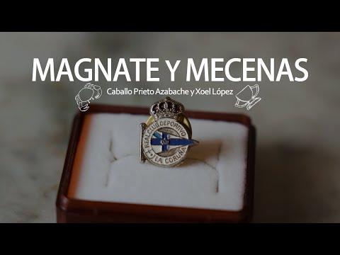 Caballo Prieto Azabache y Xoel López- Magnate y Mecenas