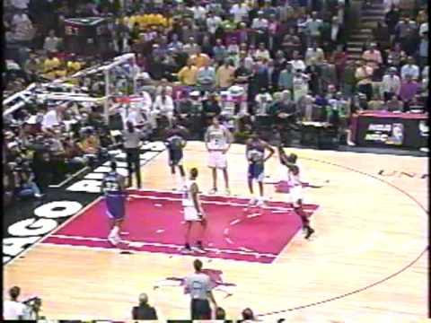 Bulls vs Jazz 1998 Finals - Game 4 - Jordan 34, Pippen 28