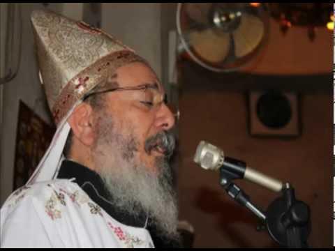 صلاة تراحيم الخادمة نجوى نصيف للقمص جوارجيوس بطرس كاهن كنيسة مارجرجس بالمطرية