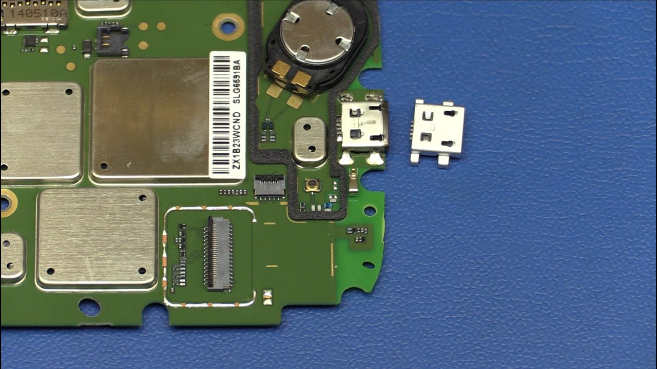 Motorola Cell Phone USB Connector Replacement / Repair - Ec-Projects ...