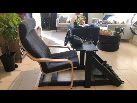 Best Inexpensive DIY Sim Racing Rig with IKEA Chair