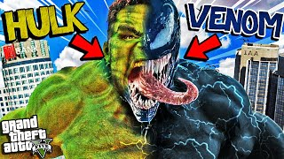 HULK And VENOM Become ONE In GTA 5 (Extreme Powers)