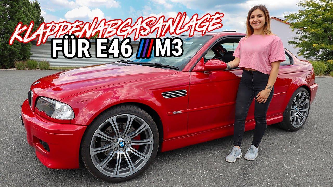Es wird laut 💥 | Klappenabgasanlage für den BMW E46 M3 | Lisa Yasmin