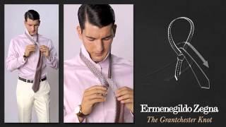 Как завязывать галстук узлом Грантчестер