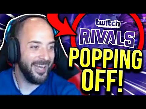 POPPING OFF AGAINST TWITCH STREAMERS TWITCH RIVALS: LEAGUE OF LEGENDS - SoloRenektonOnly