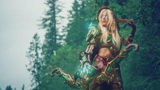Warcraft Photoshoot: Alleria & Turalyon
