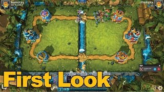 Brawl of Ages Gameplay First Look - MMOs.com