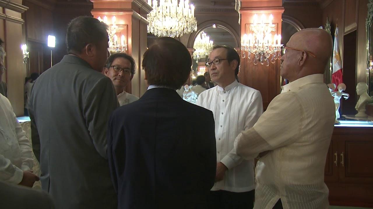 Courtesy Call of H E  Koji Haneda, Ambassador of Japan to the Philippines