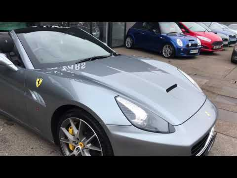 Ferrari California f1 dual clutch