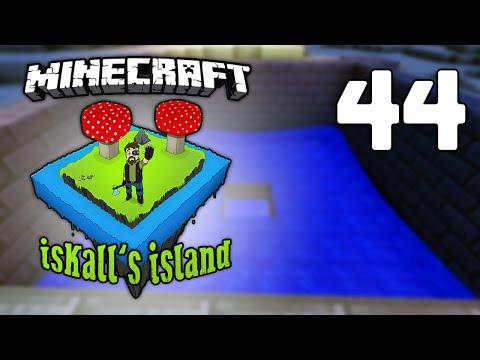 Iskall's Island - Vanilla Minecraft Lets Play - 44 - Iron Farm
