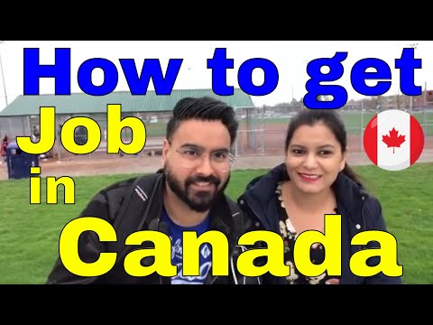 How to get job in Canada – Part 1