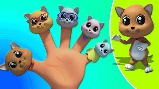 котята палец семьи | русский палец семьи | Kittens Finger Family
