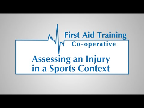 How to Assess an Injury in a Sports Context