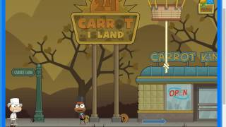 Coloring my hair like DanTDM ~ Poptropica 24 Carrot Island Part 1