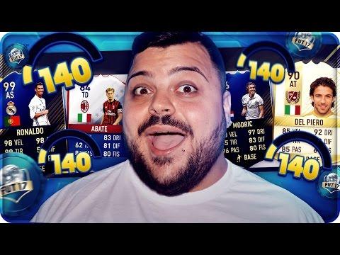 UNDER 140 FUT DRAFT CHALLENGE !!! [FIFA 17]