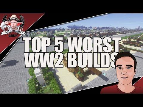 My TOP 5 Worst WW2 Builds!