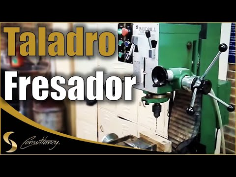 ¿Cómo usar un Taladro Fresador?