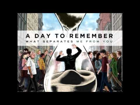A Day To Remember - Sticks & Bricks (Lyrics + High Quality)