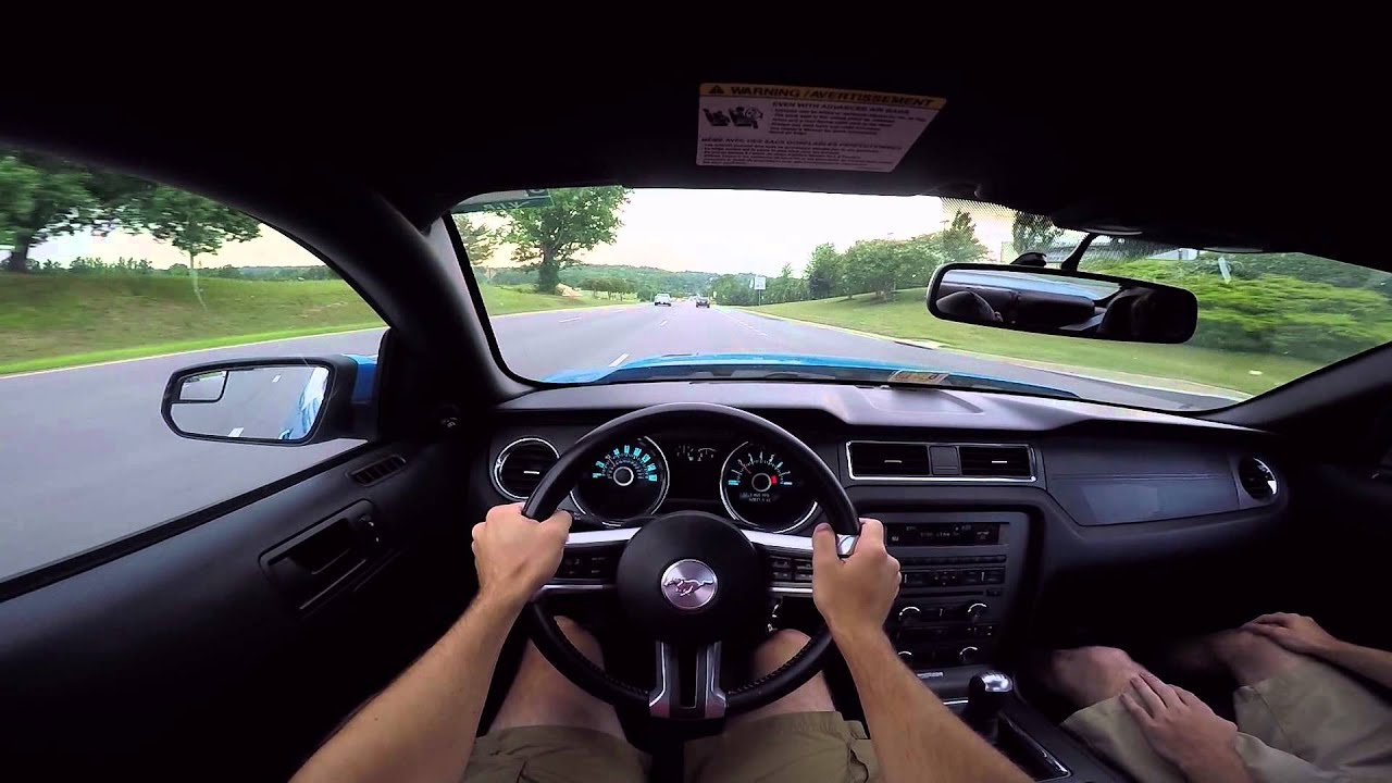 pov drive 2013 ford mustang gt smurf youtube. Black Bedroom Furniture Sets. Home Design Ideas