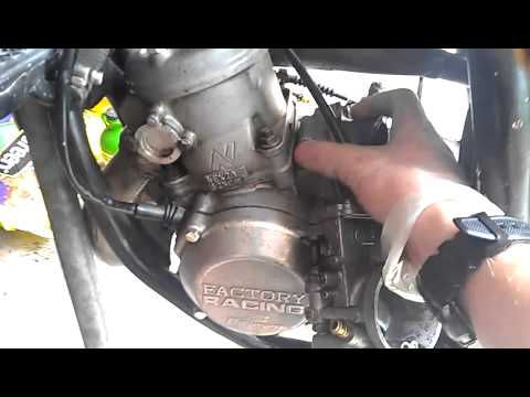 Yamaha yz125 look over, and carb help - YouTube