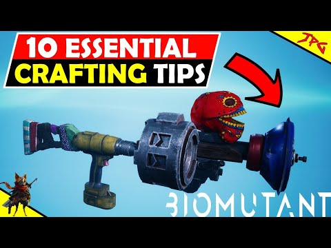 BIOMUTANT 10 ULTIMATE CRAFTING TIPS – Make Ultimate Weapons And Gear!
